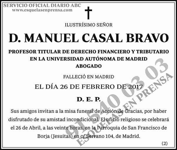 Manuel Casal Bravo